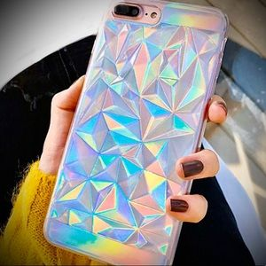 Rainbow Holographic iPhone XR Case